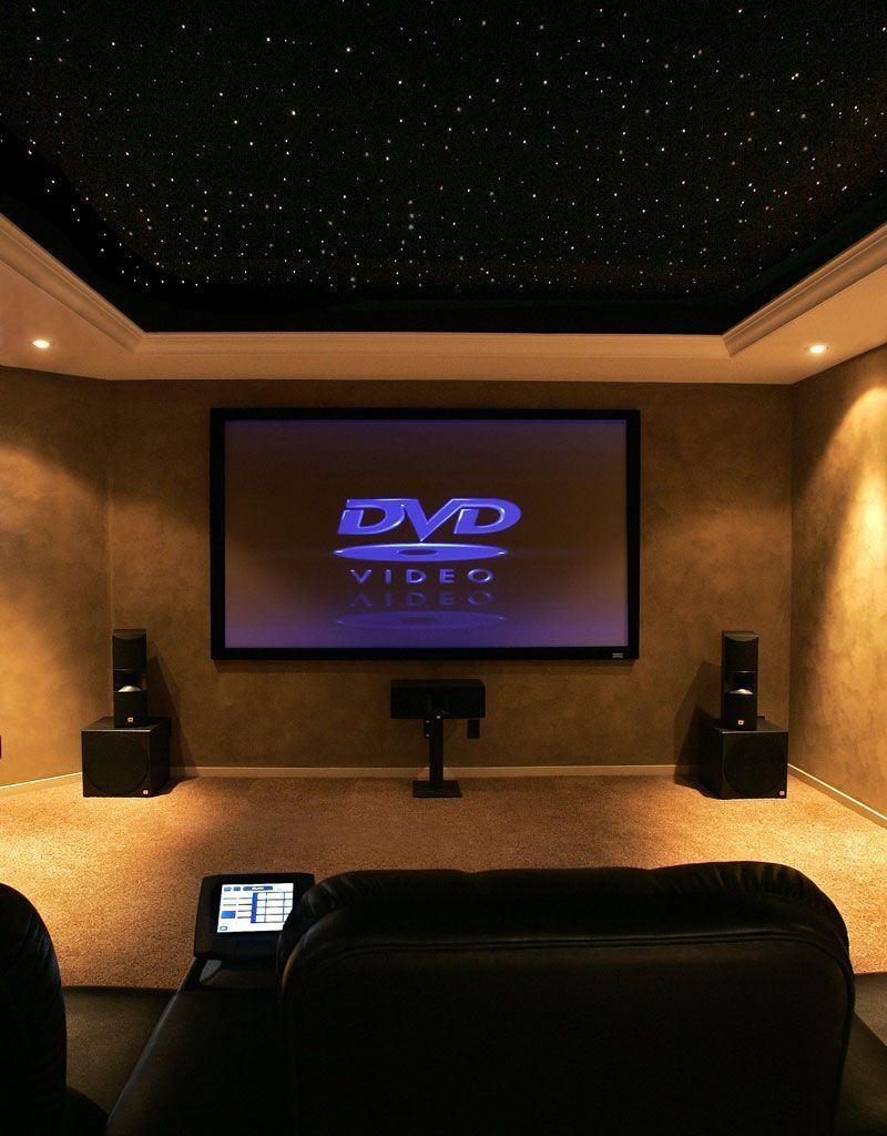 Basement Home Theater Ideas #basement (home Theater Ideas