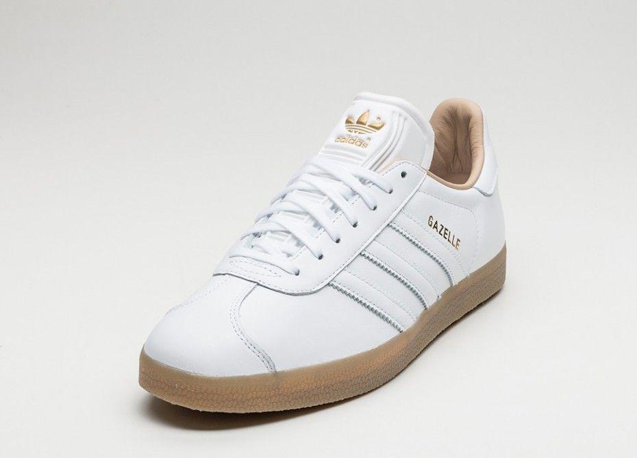 Moda Gazelle Zapatillas Venta adidas descuento de Blancas CoBdxe