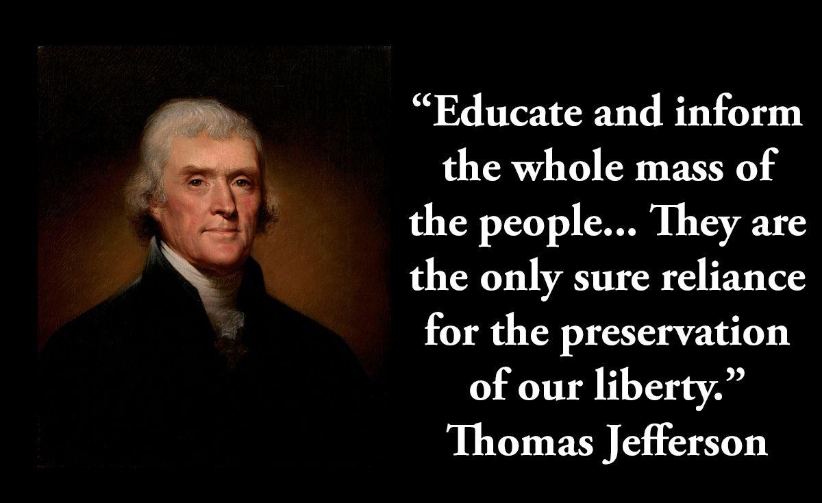 Thomas Jefferson 3rd President On Liberty Thomas Jefferson Quotes Jefferson Quotes Founding Fathers Quotes