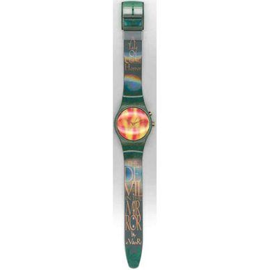 "Swatch ""The Devil"" 1998 Spring Summer CollectionBattery size:  390"