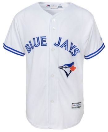bad17e984 Majestic Big Boys Toronto Blue Jays Blank Replica Jersey - White M ...