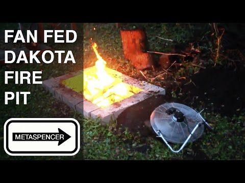46 Fan Fed Dakota Fire Pit Youtube With Images Dakota Fire