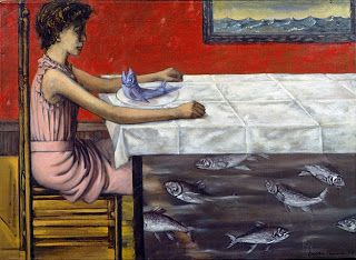 Dorothea Tanning - Poached Trout, 1952