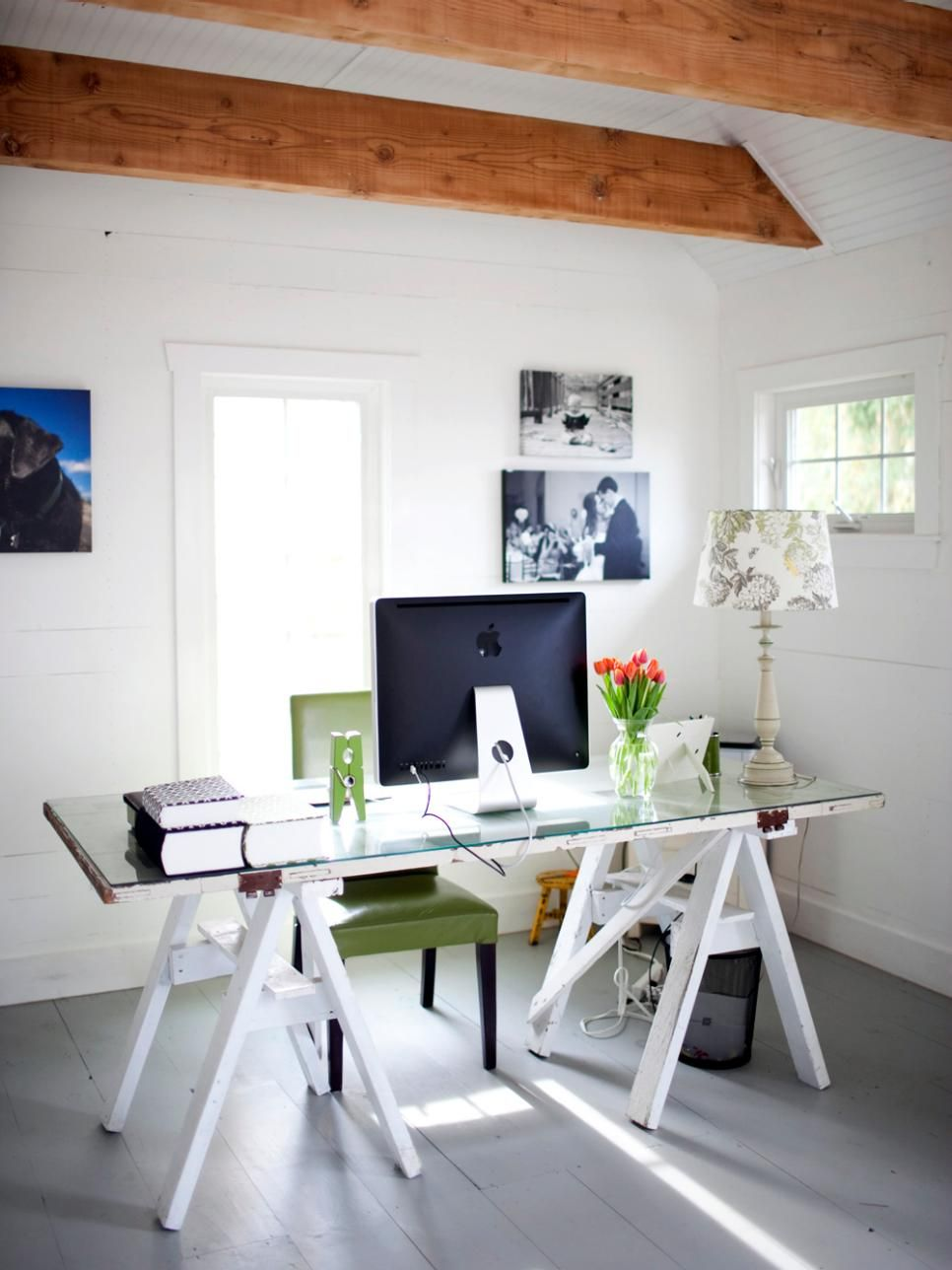 Clever Uses For Everyday Items In The Home Office Pictures
