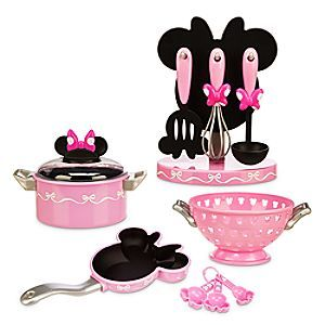 Disney Minnie Mouse Cooking Play Set Disney Store Minnie Mouse Toys Minnie Mouse Bedroom Mickey Mouse Kitchen