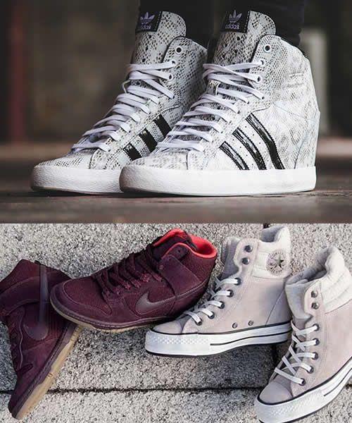 Ghete Cu Platforma Nike Si Adidas | Colectii Nike dama în ...