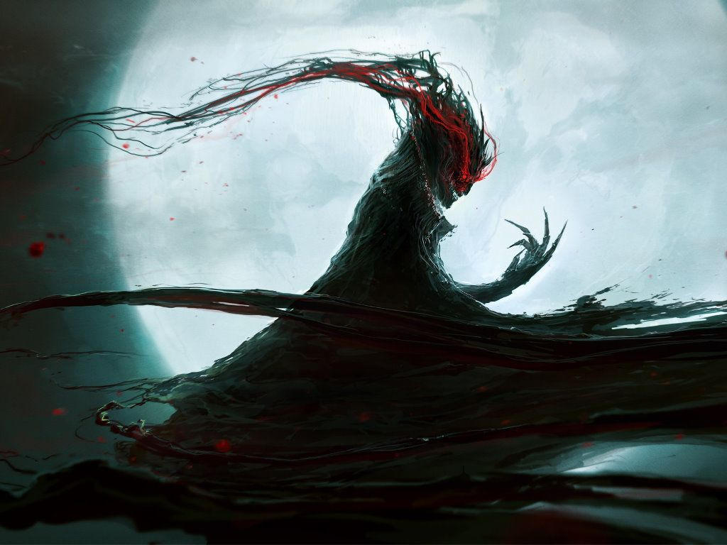 Fantasy Wallpaper Chaos Monster With Images Fantasy Demon