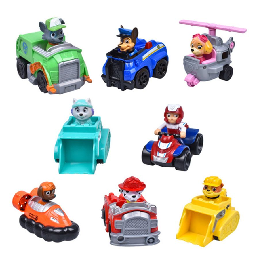 Toys car images  Patrol Puppy Dog Toys Car Action Figures Russian Cartoon Canine
