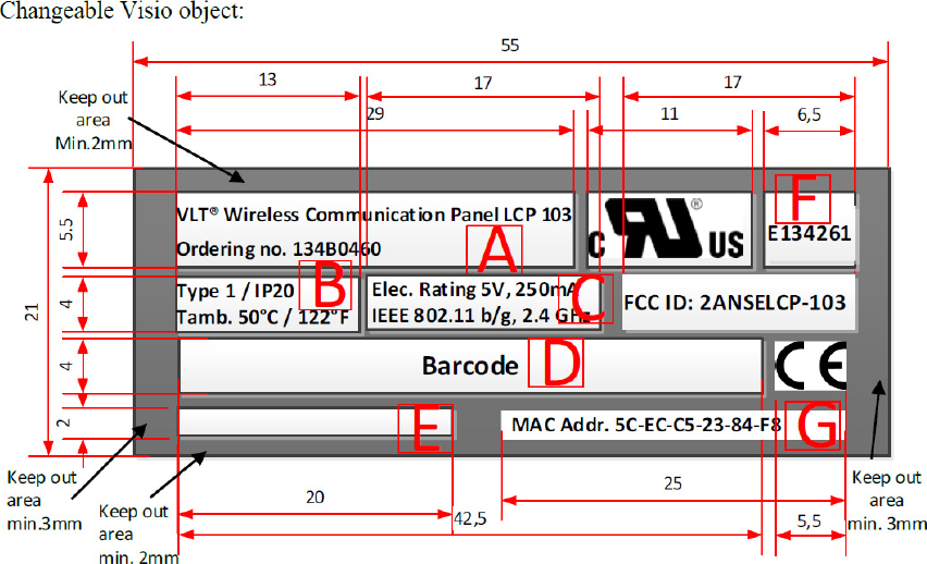 Danfoss Drives Vlt Wireless Communication Panel Lcp103 Lcp 103 2anselcp 103 Fcc Application For Vlt Wireless Communication Pa Communication Driving Wireless