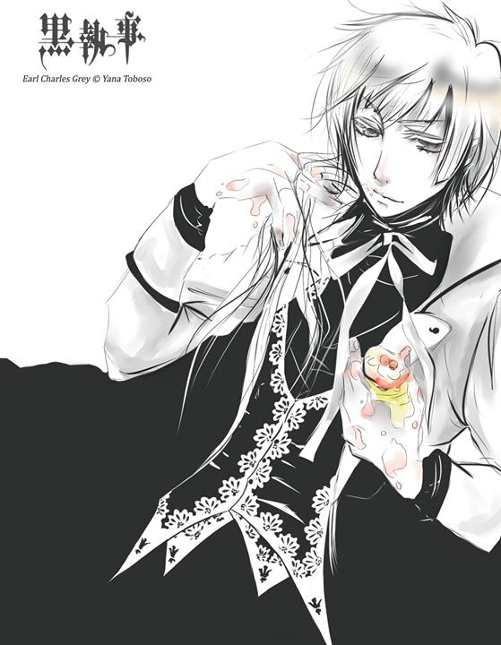 Anime lange weiße haare