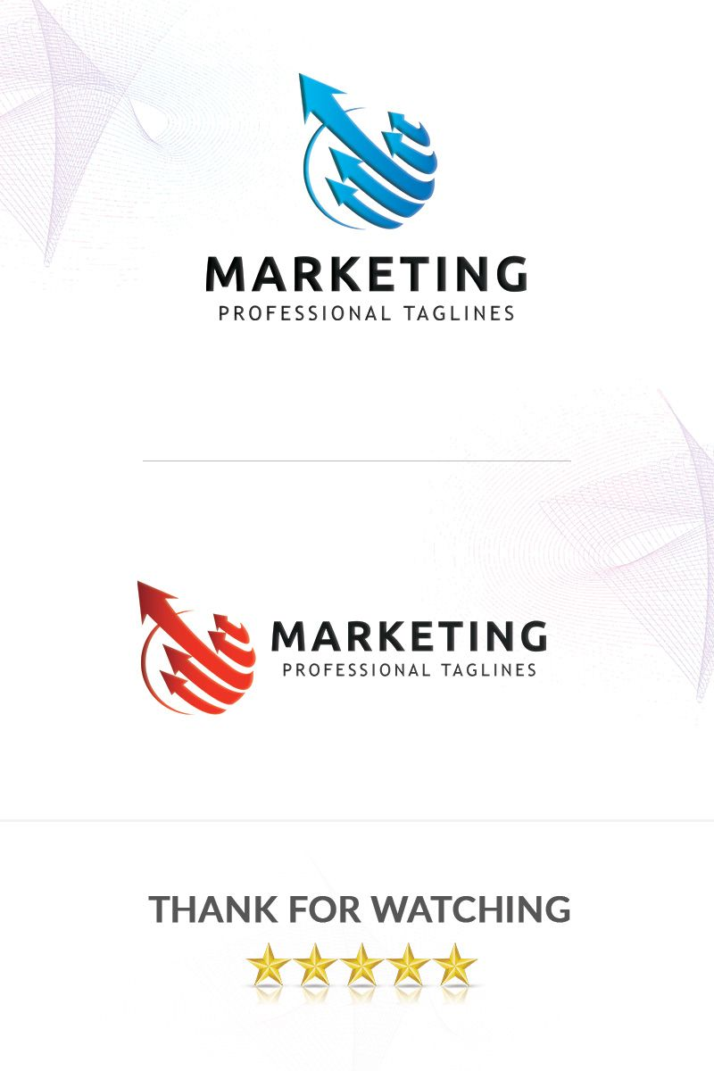 Marketing Logo Template 88521 (With images) Marketing