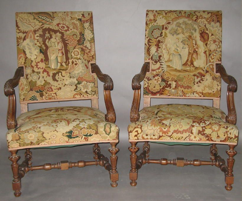 Louis XIV Style Chairs (French) - Louis XIV Style Chairs (French) Furniture Styles Pinterest