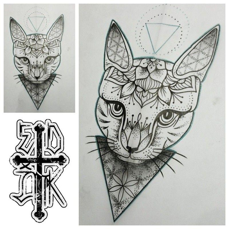 Pin Von Aen Tscha Auf Catattoo Mandalas Tattoos Mandala Tattoo