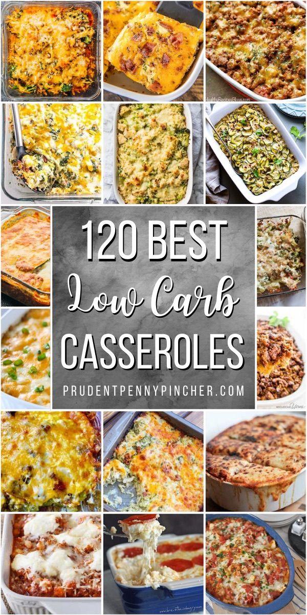 120 Low Carb and Keto Casserole Dinner Recipes – Keto dinner recipes