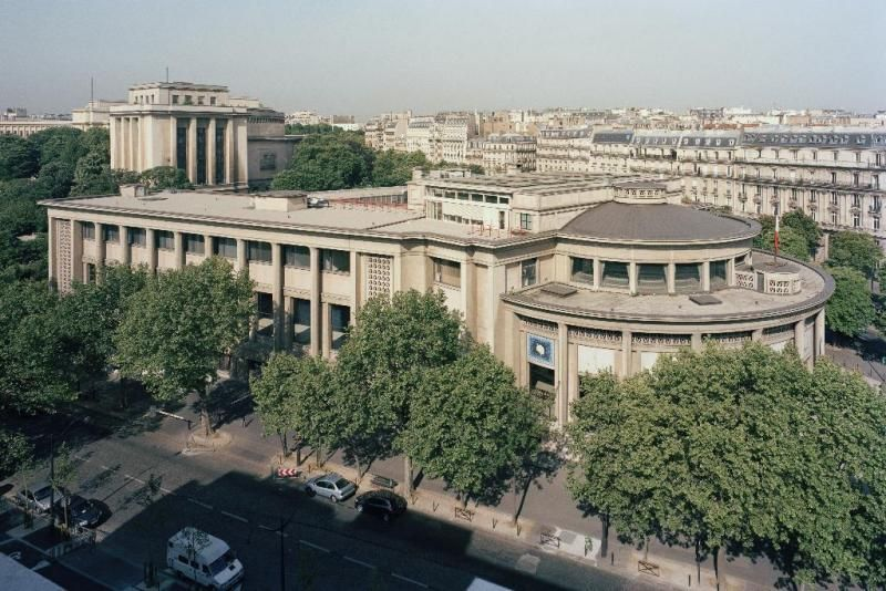 1936-1946) Palais du0027Iéna Musée national des Travaux Public