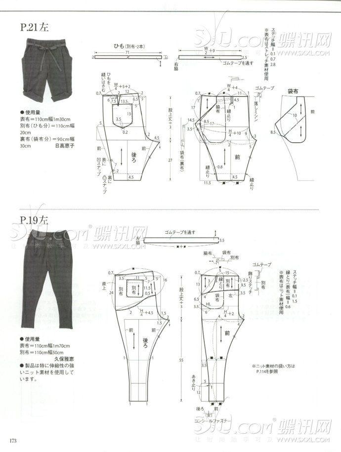 Molderia de pantalones // pants patterns instructions | costura ...