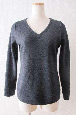 Edelweiss / V-neck Sweater - Tamanegi-kobo