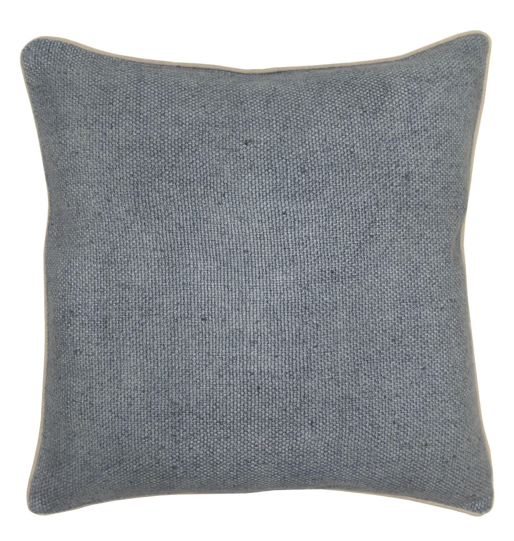 Kosas Home Quinn Cotton Throw Pillow Blue Throw Pillows Pillows Throw Pillows