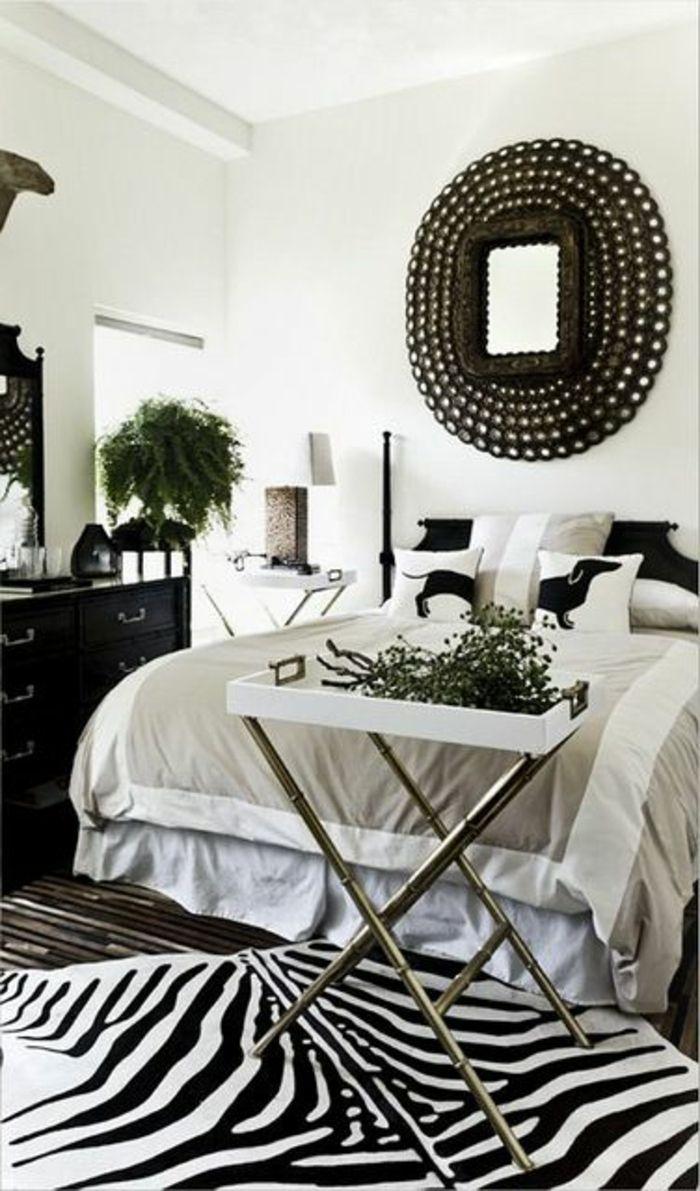 Le tapis zèbre en 12 photos avec beaucoup d'idées   Tapis zebre ...