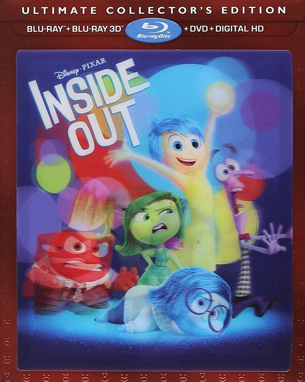 Inside Out Inside Out Disney Blu Ray Blu Ray Blu