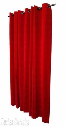 Kirsche Rot 2743cm H Samt Vorhang Tafell Mdichtkörper Oberen ösen