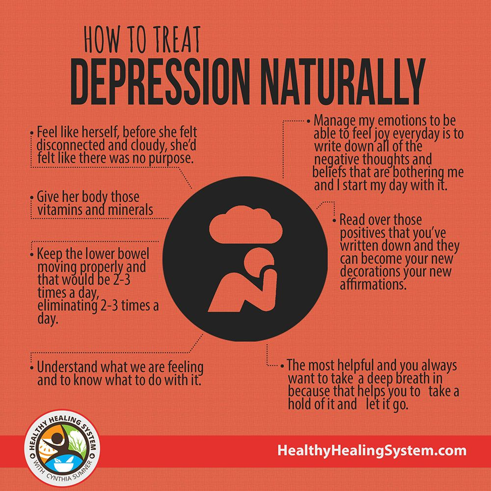 how to treat depression naturally | healthy healing system | how to