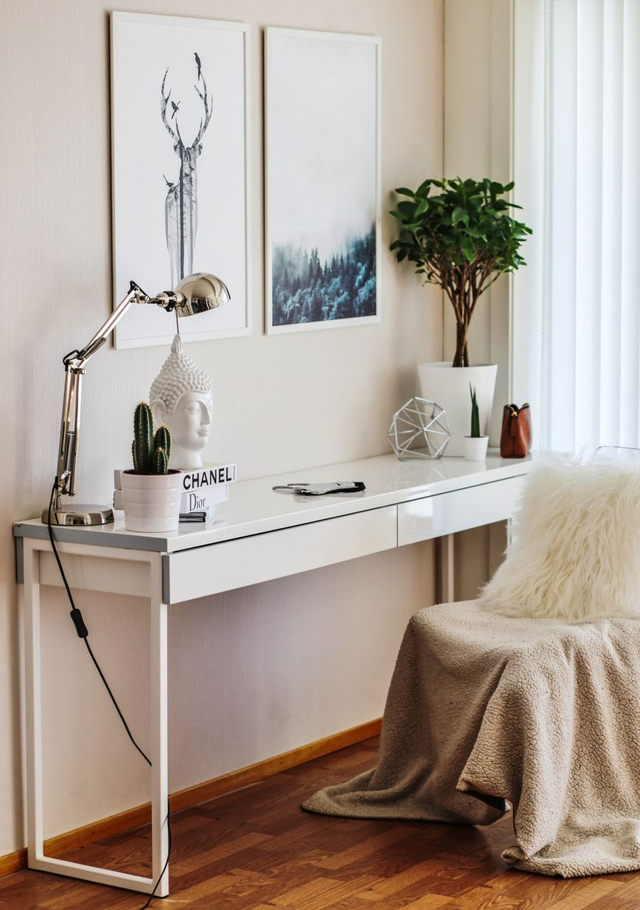 Ikea Home Office Library Ideas: Ikea Desk