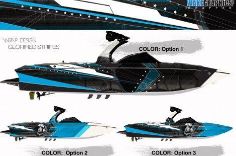 Boat Wraps Marine Vinyl Graphics Boat Wrap Potfolio Boat Wraps Wakeboard Boats Boat