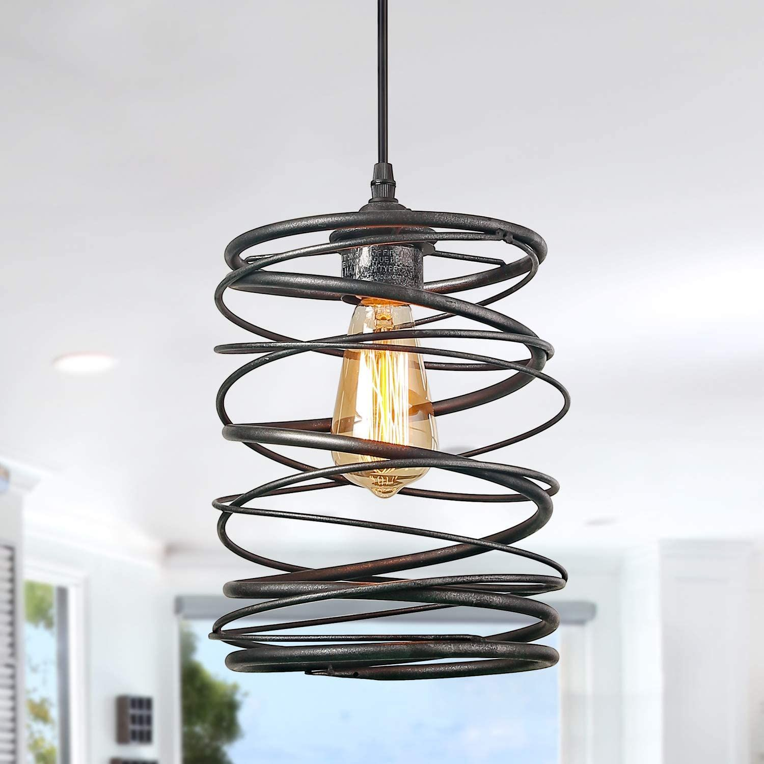lnc a03292 pendant lighting for kitchen island,rustic