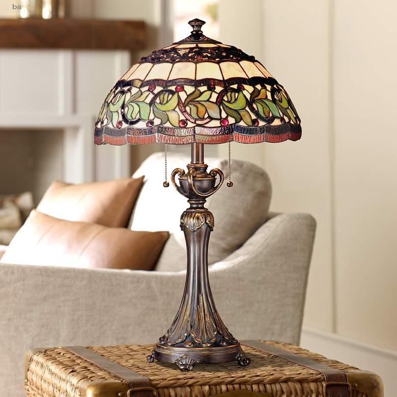 Table Lamps | Dale Tiffany Aldridge Art Glass Table Lamp