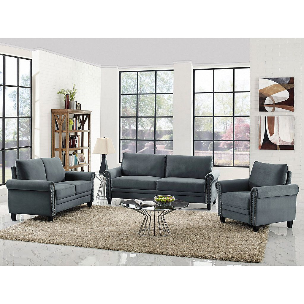 lifestyle solutions calgary sofa 3-piece set | living room