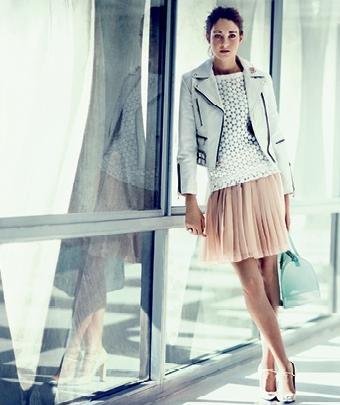 Shailene Woodley, Vogue March '12