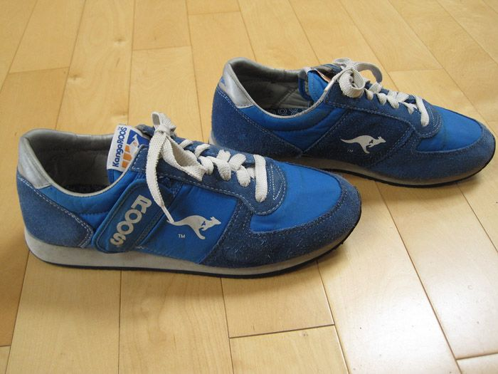 80s kangaroo shoes | Zipper Pocket 80s Vintage Kangaroos Sneakers Shoes  Roos Size 12 Mens .
