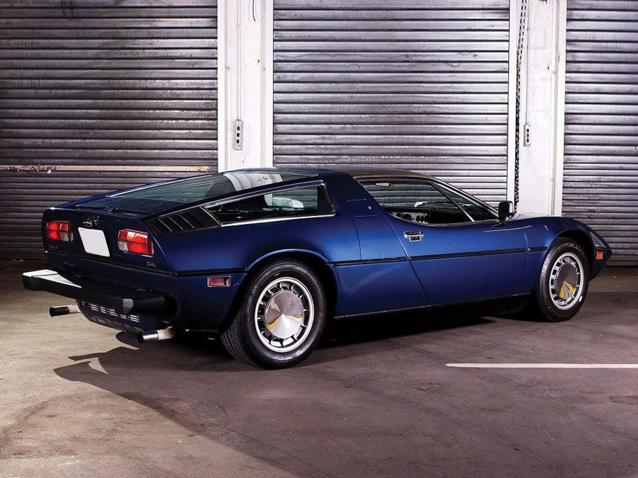 Maserati Bora (1971) – Some might connect the name Bora with a small German VW. Please reconnect with this.