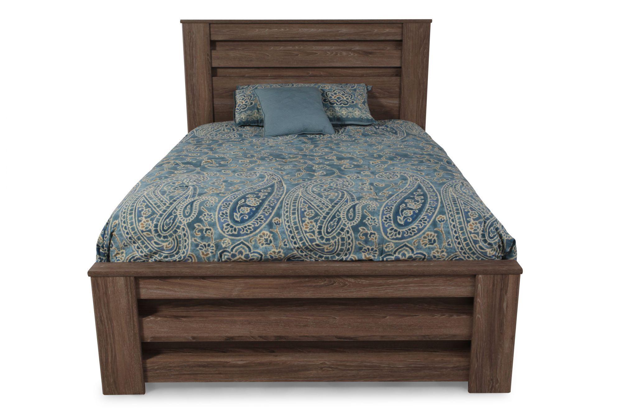 Ashley Zelen King Poster Bed King poster bed, Bed