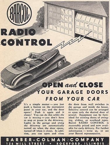 Barcol Garage Door Opener 1948 Garage Doors Garage Door Opener Garage