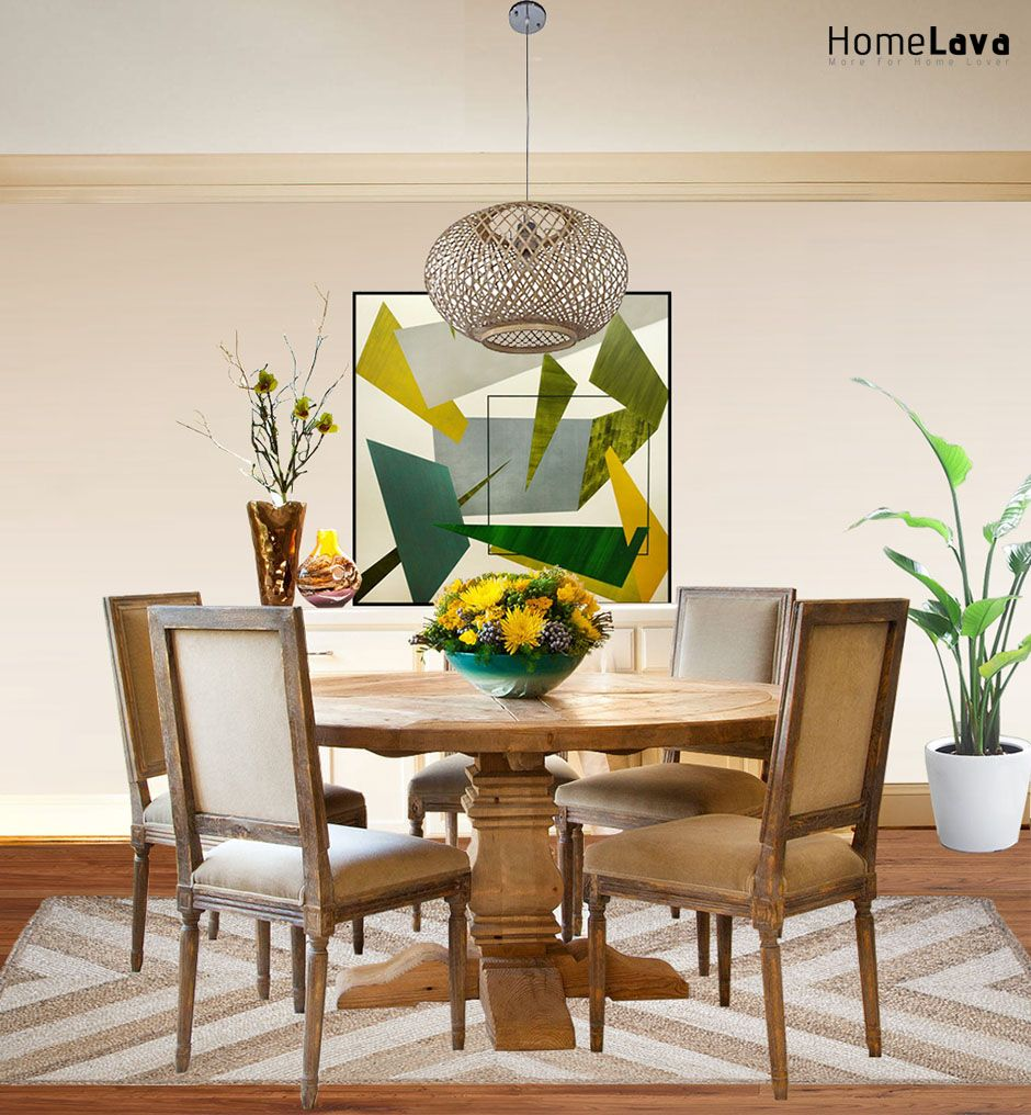 transitional dining room | Primitive dining rooms, Rooms ...
