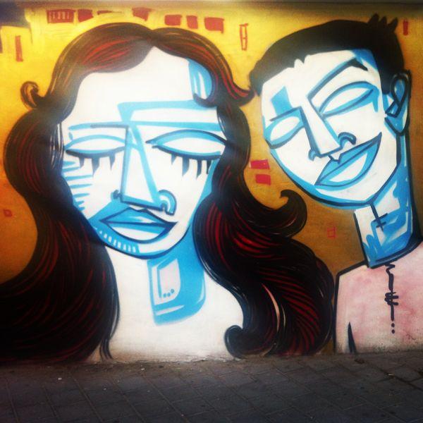 tel aviv street art, photo by galit reisman via @seasuitestlv