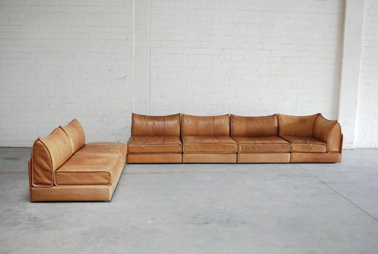 De Sede Modul Leather Sofa Ds 19 Living Room Cognac Living Room Leather Cognac Leather Sofa Vintage Leather Sofa
