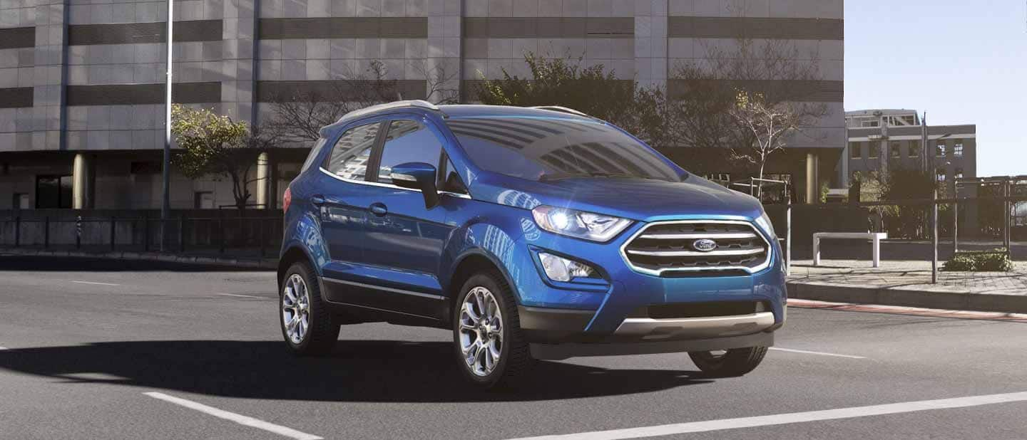 2019 Ford® EcoSport Compact SUV Fun Features, Big