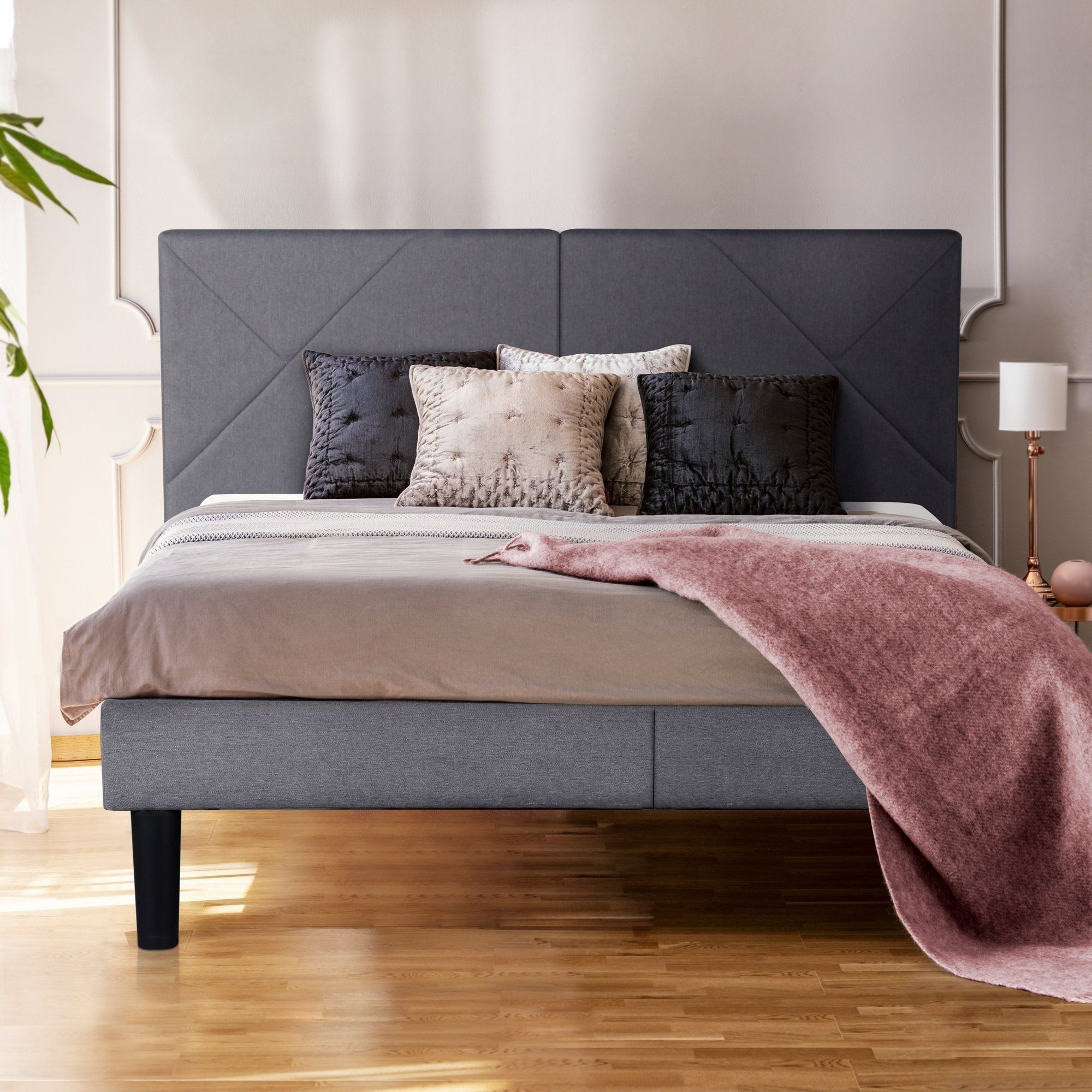 Scandinavian Bed Frame Google Search Upholstered Platform Bed Upholstered Platform Bed King Upholstered Platform Bed Queen