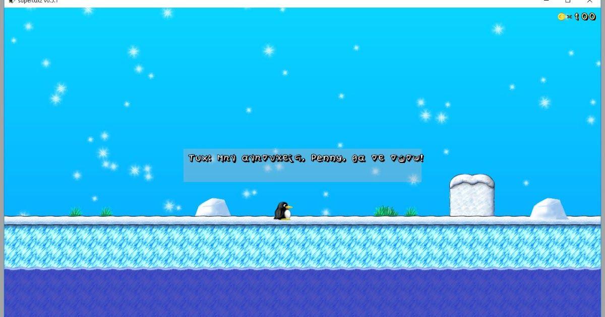 Το superTux είναι ένα κλασικό 2D jump'n παιχνίδι sidescroller με ένα στυλ παρόμοιο Super Mario περιλαμβάνει 9 εχθρούς 26 επίπεδα υποστήριξη joystick πολύ καλή μουσική με όμορφα γραφικά. και υποστήριξη ελληνικών. Διανέμεται από πολλές ιστοσελίδες και μάλιστα με μεγάλη επιτυχία. Για παράδειγμα τον Μάιο του 2017 από τις πύλες της Softpedia για την έκδοση Linux υπήρξαν μόνο 80.000 λήψεις και από την Softonic πάνω από 750.000 λήψεις μόνο για την έκδοση των Windows. Μεταξύ του 2002 και του Μαΐου…