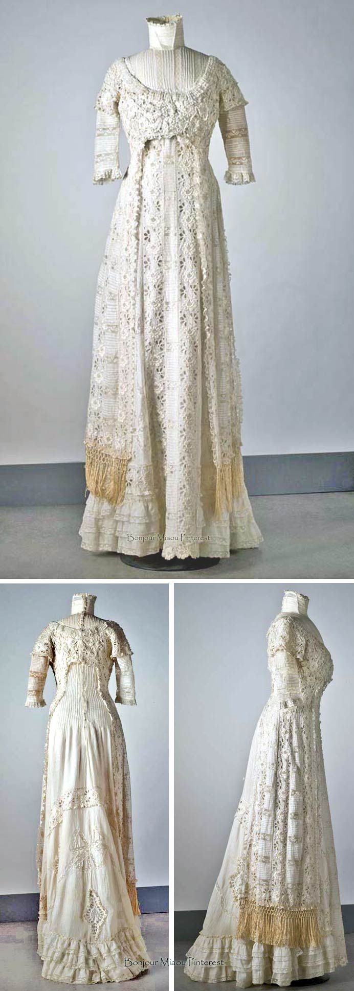 Linen and lace, ca. 1905. Nordic Museum