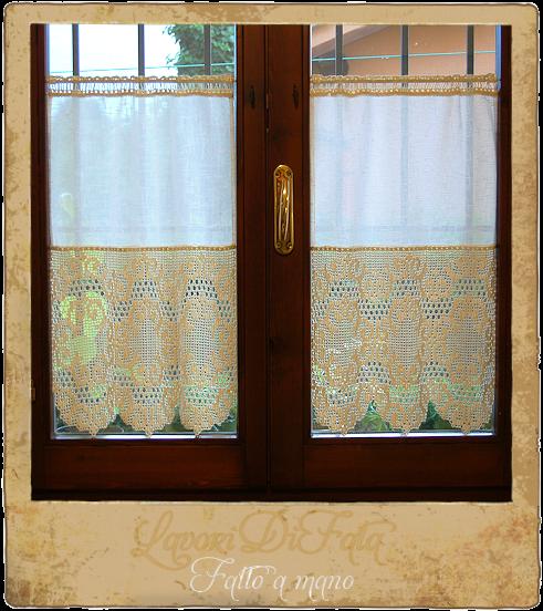 Gallery of lavoridifata tende cucina tessuto e uncinetto - Schemi ...