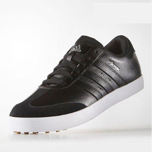 adidas Golf Adicross V Men's Golf Shoes Adiwear Spikeless Black ...