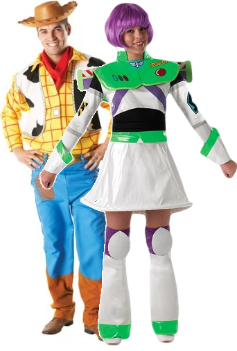 High Quality Couples Menu0027s And Ladies Toy Story Fancy Dress Costumes. These Matching  Disney Outfits Will Have You Going To Infinity And Beyond.