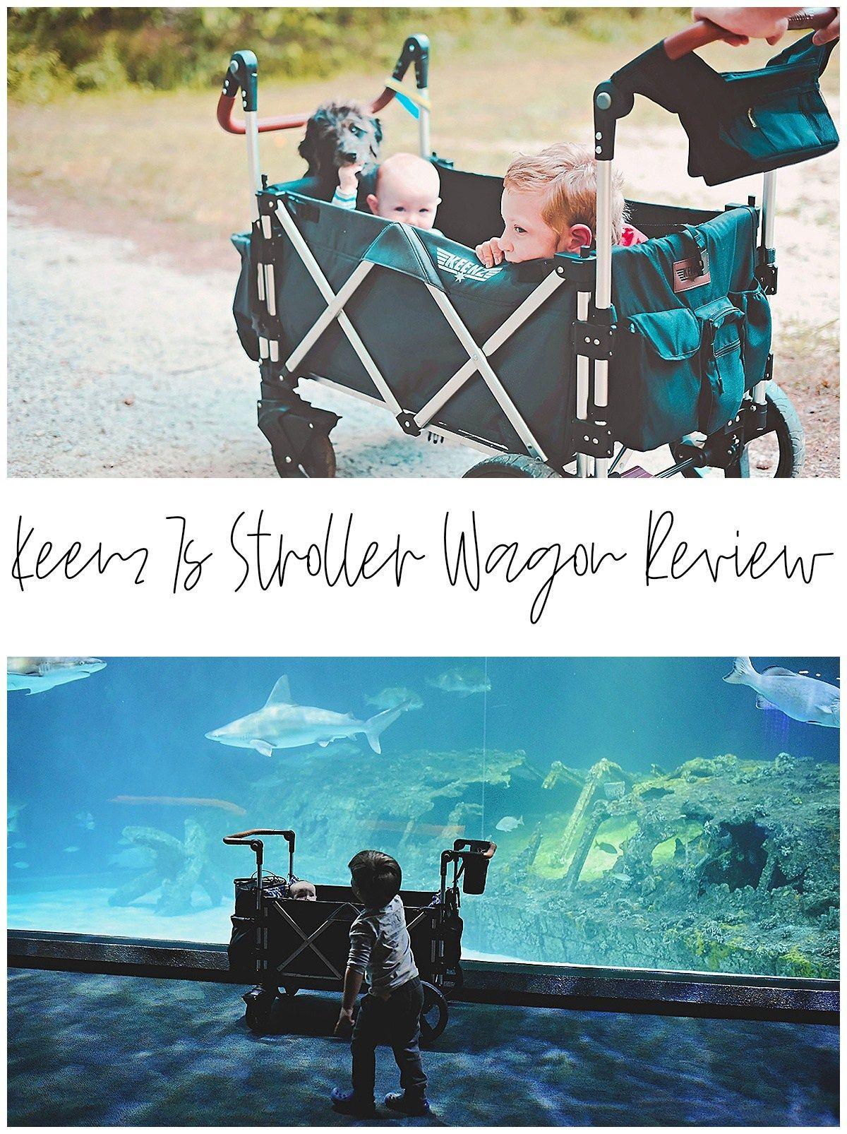 Keenz 7s Stroller Wagon Review Playpen, Purple fabric