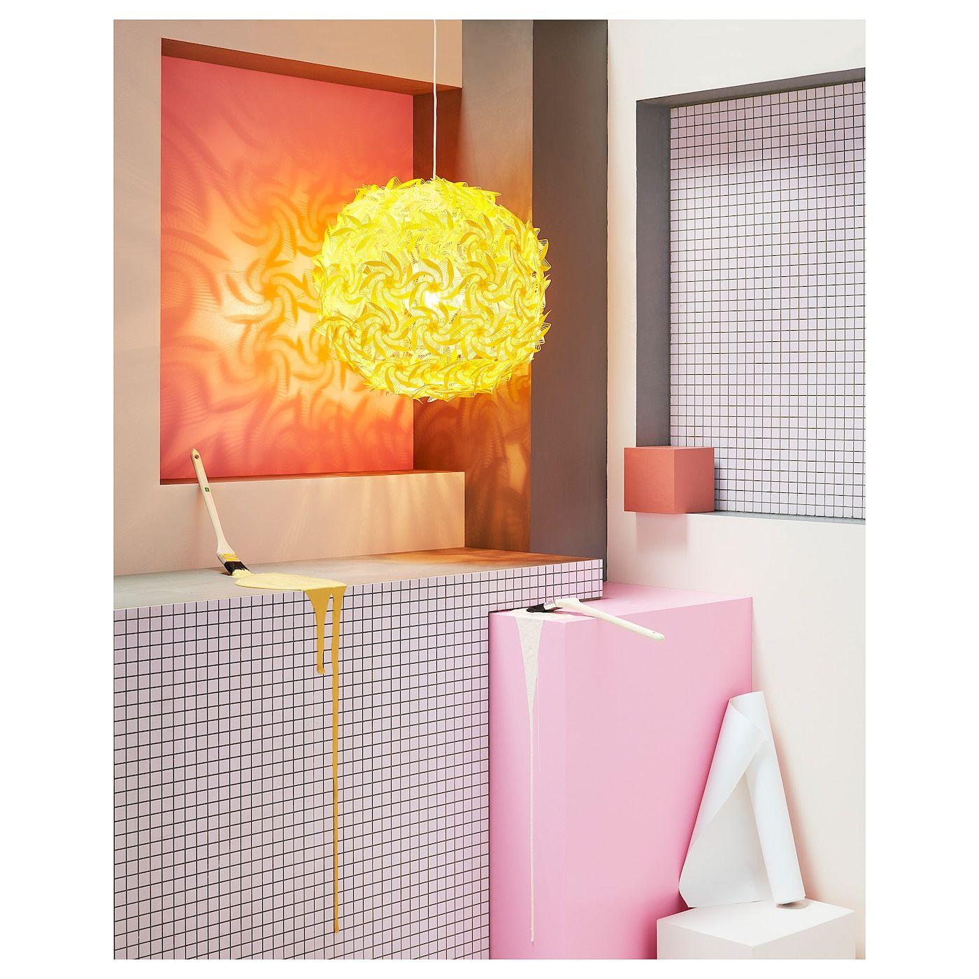 Grimsas Hangeleuchte Gelb Ikea Deutschland In 2020 Ikea Wandleuchte Anhanger Lampen Hangeleuchte