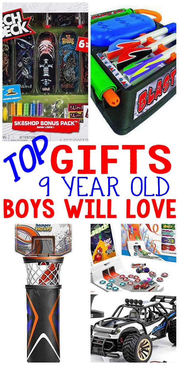 Best Gifts 9 Year Old Boys Will Love Top Gifts For Boys