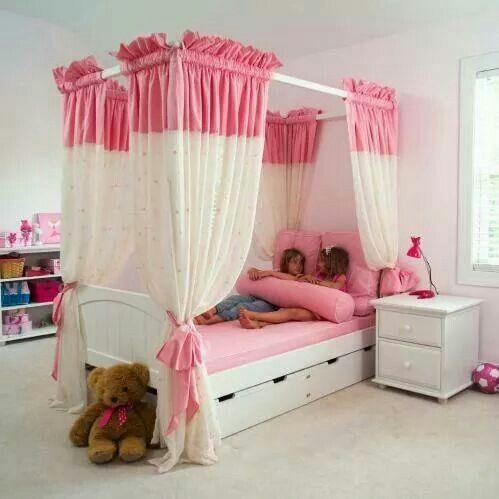 Pink princress canopy